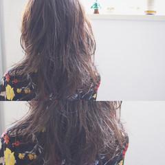 ナチュラル セミロング フェミニン 大人かわいい ヘアスタイルや髪型の写真・画像
