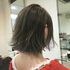 涼しげ 色気 ヘアアレンジ ボブ ヘアスタイルや髪型の写真・画像