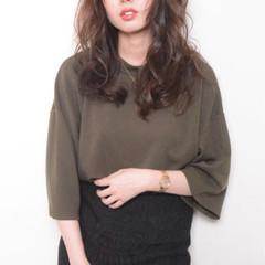フェミニン ロング 卵型 大人かわいい ヘアスタイルや髪型の写真・画像