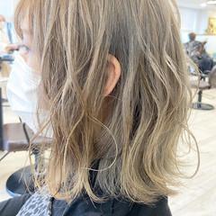 ミルクティーグレージュ ミルクティーグレー ボブ ミルクティー ヘアスタイルや髪型の写真・画像