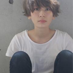 小顔 ショート 大人女子 モード ヘアスタイルや髪型の写真・画像