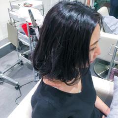 黒髪 デート 色気 ナチュラル ヘアスタイルや髪型の写真・画像