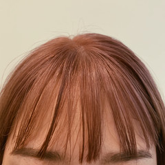 ハイトーン ベージュ ダブルカラー ピンクベージュ ヘアスタイルや髪型の写真・画像