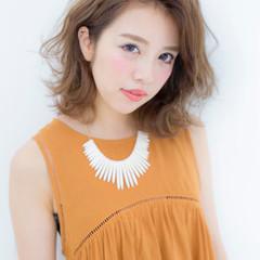 外国人風 ワイドバング ピュア パーマ ヘアスタイルや髪型の写真・画像