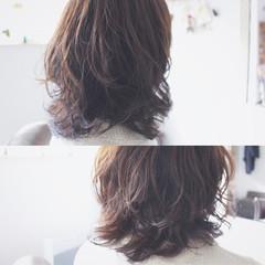 パーマ 大人かわいい フェミニン ナチュラル ヘアスタイルや髪型の写真・画像