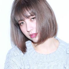 ミディアム ダブルカラー 外国人風 外国人風カラー ヘアスタイルや髪型の写真・画像