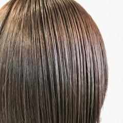 無造作パーマ ボブ インナーカラー 外国人風カラー ヘアスタイルや髪型の写真・画像