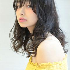 透明感 デート フェミニン 秋 ヘアスタイルや髪型の写真・画像