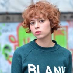 ショート モード 外国人風 ガーリー ヘアスタイルや髪型の写真・画像