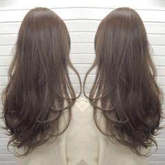 ハイライト エレガント 上品 ロング ヘアスタイルや髪型の写真・画像