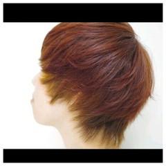 グラデーションカラー インナーカラー ストリート ハイトーン ヘアスタイルや髪型の写真・画像
