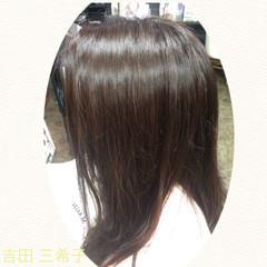 バイオレットアッシュ パープル ロング コンサバ ヘアスタイルや髪型の写真・画像