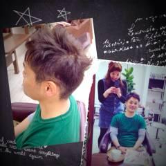 ナチュラル ベース型 ウェットヘア ヘアスタイルや髪型の写真・画像