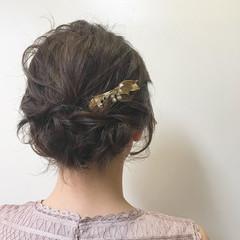 成人式 ボブ ナチュラル ゆるふわパーマ ヘアスタイルや髪型の写真・画像
