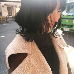 ボブ 大人かわいい 渋谷系 ナチュラル ヘアスタイルや髪型の写真・画像