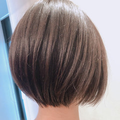 圧倒的透明感 ナチュラル ショートヘア こなれ感 ヘアスタイルや髪型の写真・画像