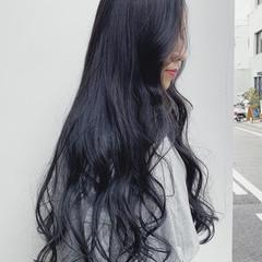 ロング アッシュグレージュ グレージュ フェミニン ヘアスタイルや髪型の写真・画像