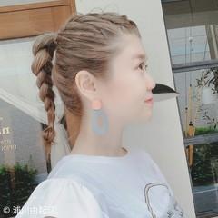 ロング ナチュラル モテ髪 ゆるふわ ヘアスタイルや髪型の写真・画像