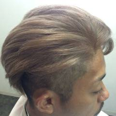ブリーチ ダブルカラー ストリート 坊主 ヘアスタイルや髪型の写真・画像