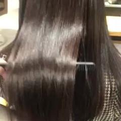 ナチュラル oggiotto ロング サイエンスアクア ヘアスタイルや髪型の写真・画像