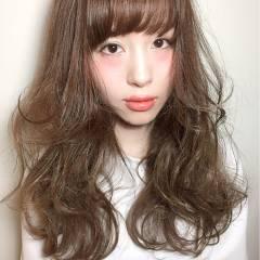 おフェロ ロング モテ髪 ゆるふわ ヘアスタイルや髪型の写真・画像