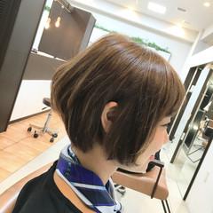 ストリート ショートボブ ショート 大人かわいい ヘアスタイルや髪型の写真・画像