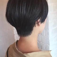 モード デート ダークアッシュ オフィス ヘアスタイルや髪型の写真・画像