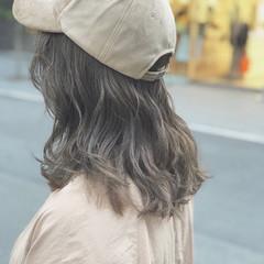 ミルクティーベージュ イルミナカラー オルチャン ナチュラル ヘアスタイルや髪型の写真・画像