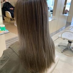 ナチュラル ブリーチオンカラー ダブルカラー ロング ヘアスタイルや髪型の写真・画像