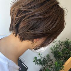 ナチュラル 髪質改善 ショートヘア ショート ヘアスタイルや髪型の写真・画像