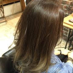ストリート グラデーションカラー ブリーチ ロング ヘアスタイルや髪型の写真・画像
