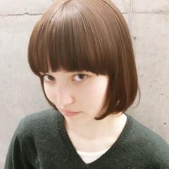 ストリート 大人かわいい グラデーションカラー ボブ ヘアスタイルや髪型の写真・画像