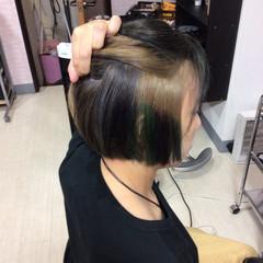 ベリーショート ショートボブ ショート エレガント ヘアスタイルや髪型の写真・画像
