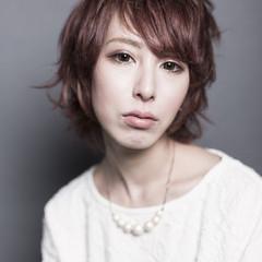 ブリーチ ピンク ガーリー ショート ヘアスタイルや髪型の写真・画像