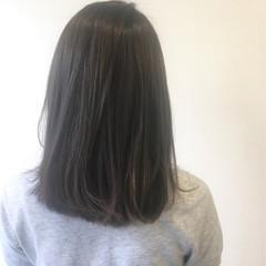 ナチュラル ブルージュ ミディアム グレージュ ヘアスタイルや髪型の写真・画像