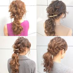 成人式 簡単ヘアアレンジ 結婚式 スポーツ ヘアスタイルや髪型の写真・画像