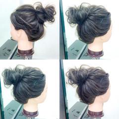 アウトドア 夏 色気 簡単ヘアアレンジ ヘアスタイルや髪型の写真・画像