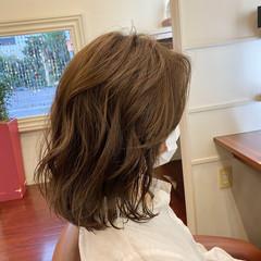 ゆるふわパーマ 大人ヘアスタイル エレガント 大人女子 ヘアスタイルや髪型の写真・画像