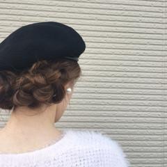 ハイライト セミロング デート ヘアアレンジ ヘアスタイルや髪型の写真・画像