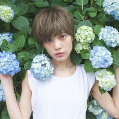 外国人風 大人かわいい ショート ピュア ヘアスタイルや髪型の写真・画像