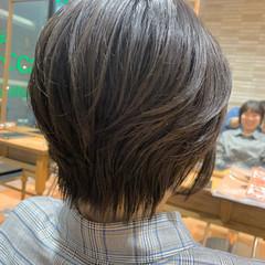 ショート ベリーショート ショートボブ 小顔ショート ヘアスタイルや髪型の写真・画像