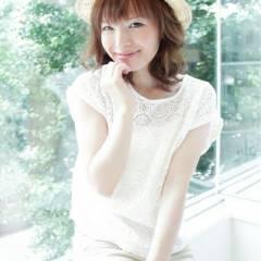 モテ髪 大人かわいい コンサバ ヘアアレンジ ヘアスタイルや髪型の写真・画像