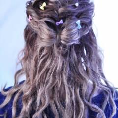 モテ髪 ヘアアレンジ 愛され アップスタイル ヘアスタイルや髪型の写真・画像