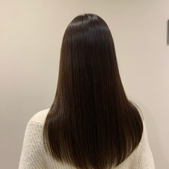 大人ロング ストレート ロング ナチュラル ヘアスタイルや髪型の写真・画像