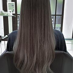 ロング アンニュイ デート フェミニン ヘアスタイルや髪型の写真・画像
