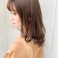 ミディアム 大人かわいい 色気 くびれボブ ヘアスタイルや髪型の写真・画像