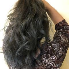 ミディアム 西海岸風 バレイヤージュ ハイライト ヘアスタイルや髪型の写真・画像