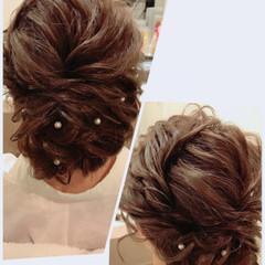 振袖 ガーリー アップスタイル ルーズ ヘアスタイルや髪型の写真・画像
