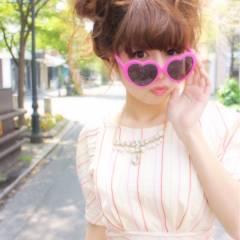 ヘアアレンジ コンサバ ゆるふわ 愛され ヘアスタイルや髪型の写真・画像