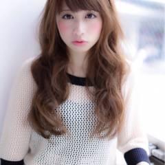 冬 秋 ロング 大人かわいい ヘアスタイルや髪型の写真・画像